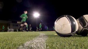 Treningi piłkarskie podczas obozu piłkarskiego Celtic Glasgow