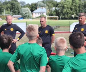 Obóz piłkarski pro