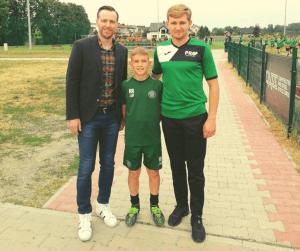 Maciej żurawski Celtic Glasgow obozy piłkarskie