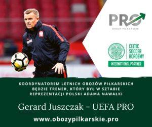 Gerard Juszczak Obozy Piłkarskie PRO
